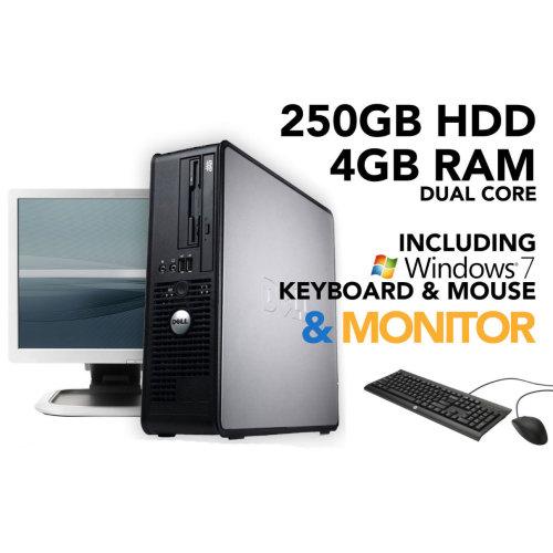 Strange Dell Optiplex Dual Core 4Gb Ram 250Gb Hdd Windows 7 Pc Computer Bundle Download Free Architecture Designs Ponolprimenicaraguapropertycom
