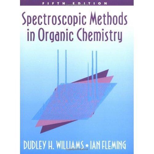 Spectroscopic Methods in Organic Chemistry 5/e