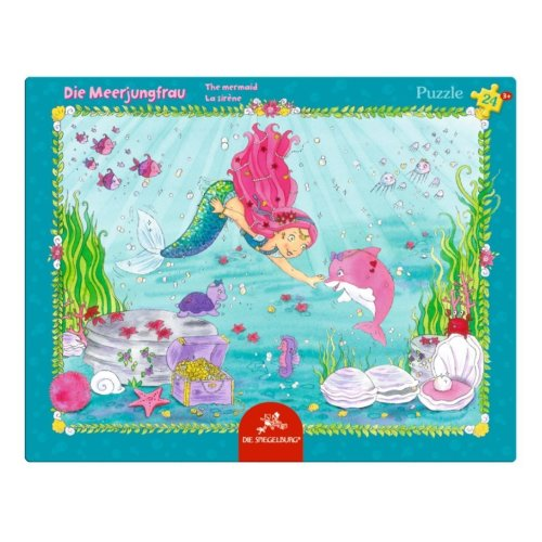 Spiegelburg 24 Piece The Little Mermaid Frame Puzzle 37 X 29 Cm