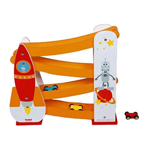 Scratch Rocket Rolling Slope Toy