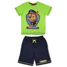 Paw Patrol T Shirt & Shorts Set - Green