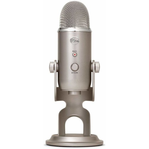 Blue Microphones Yeti USB Microphone, Platinum