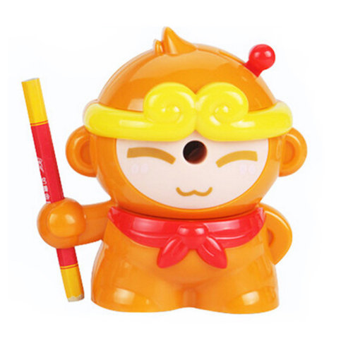 Cute  Manual Pencil Sharpener For Office And Classroom?monkey