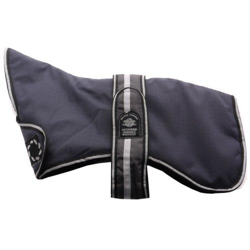 Outhwaites Greyhound Waterproof Polyester Padded Coat Grey 66cm (26'')