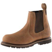 Buckler B1151SM Buckflex Safety Dealer Work Boots Autumn Oak Leather (Sizes 6-13)