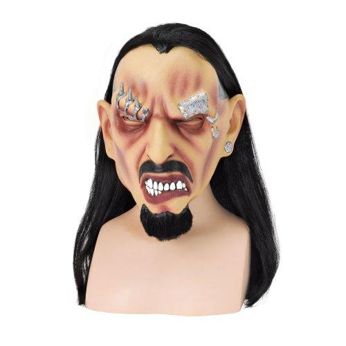 Pierced Freak Overhead Mask -  fancy mask dress pierced freak halloween horror FANCY DRESS MASK PIERCED FREAK HALLOWEEN SCARY