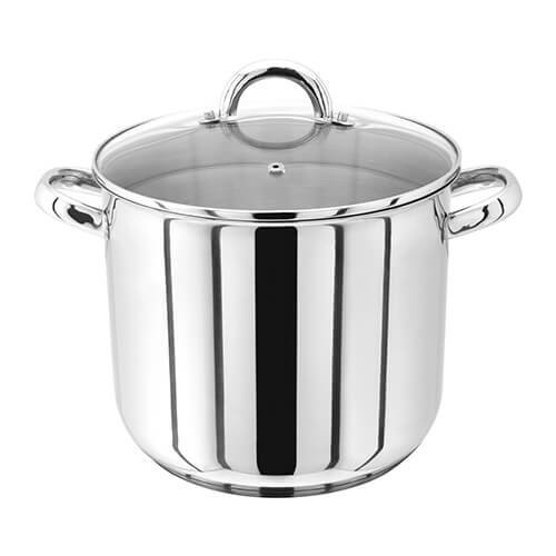 Judge 24cm Stainless Steel Stockpot With Vented Glass Lid