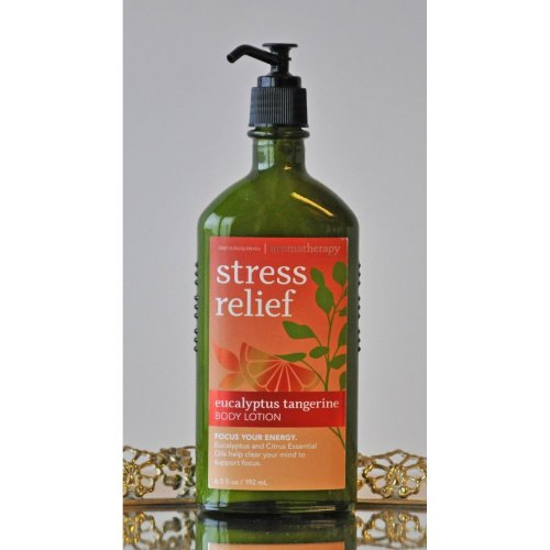 Bath & Body Works Stress Relief Eucalyptus Tangerine Body Lotion 6.5 oz.