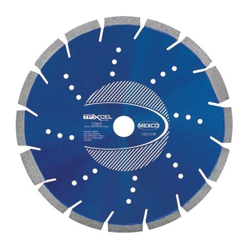 Mexco TPXCEL 230mm Tri Purpose Diamond Blade
