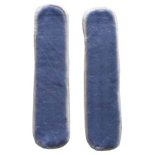 Plush Chair Armrest Covers Armrest Pads Chair Arm Covers Gray