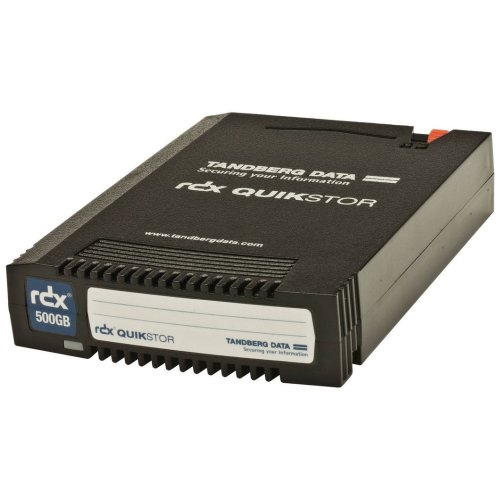 Tandberg Data RDX Cartridge 500 GB Tape Cartridge