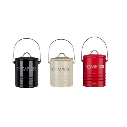 Compost Bin With Handle in 3 different Colours