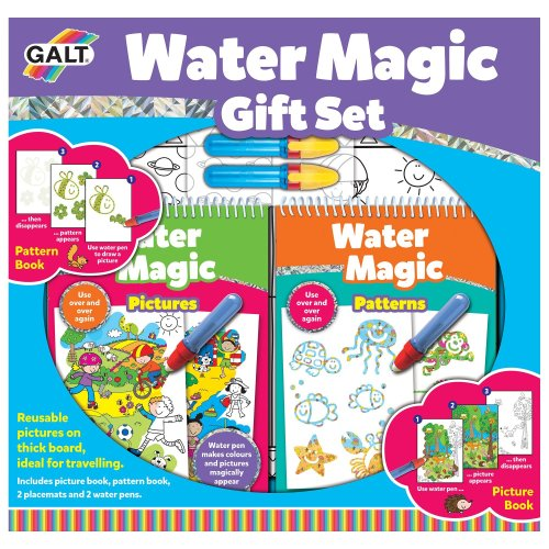 Multiprint Shimmer /& Shine Stamp Splash Aqua Drawing Mat Childrens Art Playset