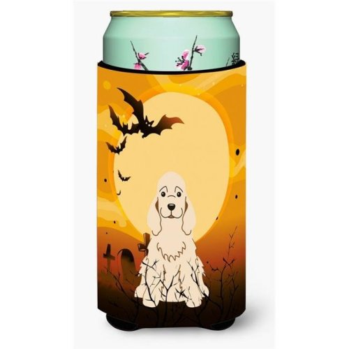 Carolines Treasures BB4360TBC Halloween Cocker Spaniel Buff Tall Boy Beverage Insulator Hugger