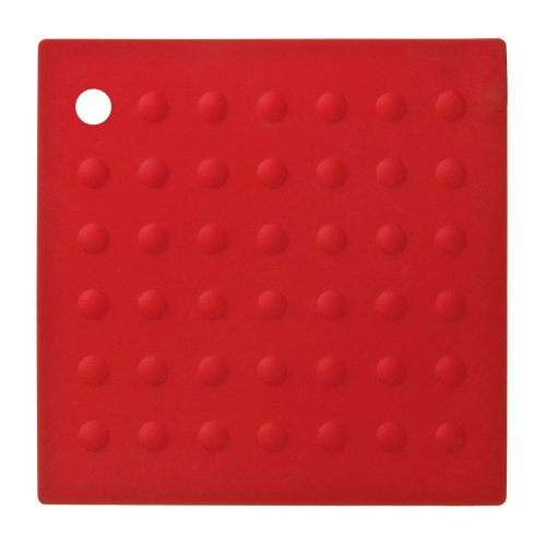 Zing Silicone Trivet - Red