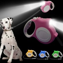 5 Meter Retractable Safety Dog Lead Extendable Puppy Auto Leash Belt