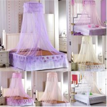 Lace Mosquito Net Fly Insect Protection Bed outdoor Canopy Netting Curtain Dome