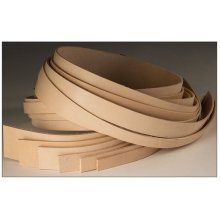 Cowhide Strip 1-1/4in X 50in -  cowhide strip 114in x 50in lightweight natural leather 4x50 tandy