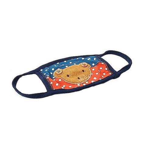 Children's Mask For Windproof, Dustproof, Breathable Masks (Blue Bear)