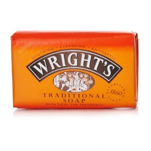 Wrights Traditional Coal Tar Soap 125g