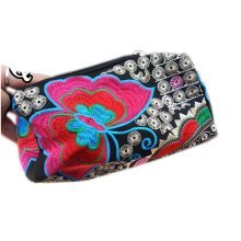 Ethnic Style Needlecrafts Handmade Embroidery, Purse & Hand bag & Purse(Q)