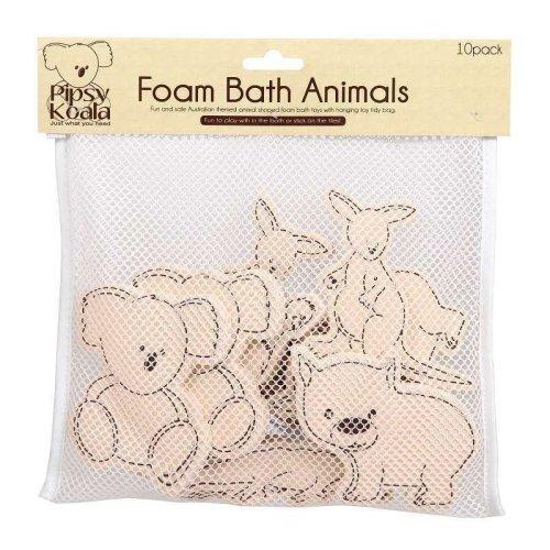 Pipsy Koala Foam Bath Animals -  bath foam animals pipsy koala baby toys tidy bag