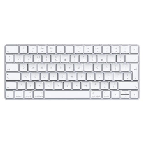 Apple Magic Keyboard Bluetooth QWERTY UK English Silver,White keyboard