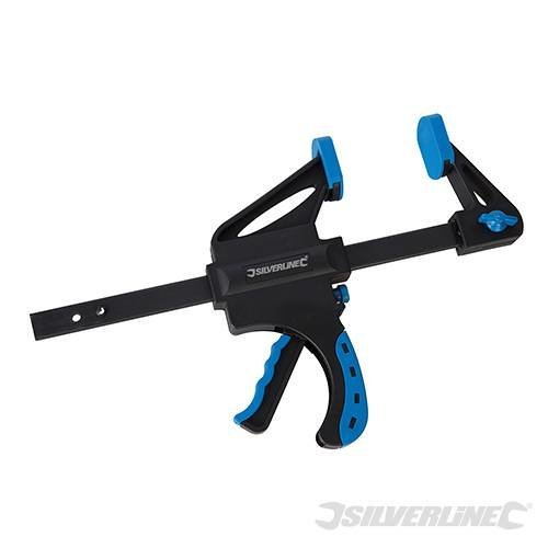 Silverline Quick Clamp Heavy Duty 150mm -  clamp quick heavy duty silverline 150mm 324779