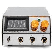 Professional LCD Digital Dual Flat Tattoo Power Supply