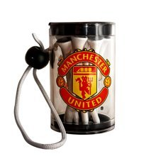 Manchester United F.c Official Golf Tee Shaker With Tees Rrp£7 - Football Club -  official manchester united football club golf tee shaker gift