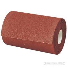 5m 60 Grit Aluminium Oxide Roll - Silverline Sanding 175300 Sandpaper 12 -  5m aluminium oxide roll grit 60 silverline sanding 175300 sandpaper 12