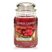 Yankee Candle Large Jar Candle - Black Cherry