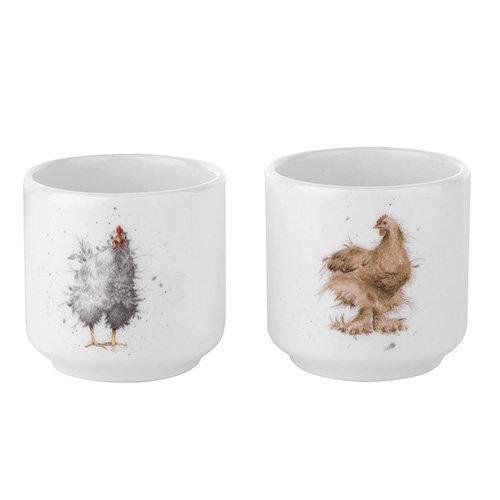 Wrendale Designs Set Of 2 Egg Cups