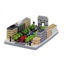 Nano 3D Puzzle - Avenue Des Champs-Elyses (Level 3)