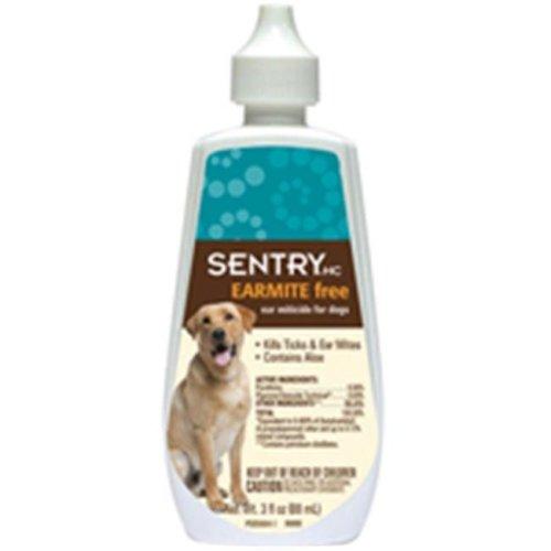 Sergeant Pet 2233 3 Oz. Sentry Ear Miticide Dog