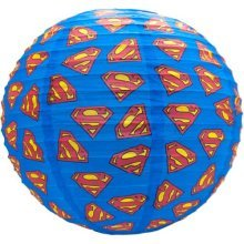 Superman Logo Lampshade