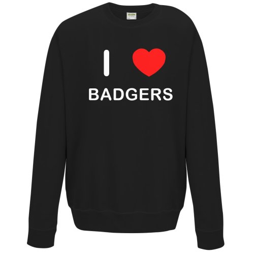 I Love Badgers - Sweater