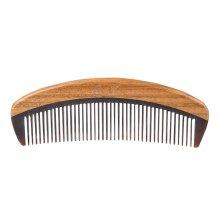 Natural Handmade Wood Comb Buffalo Horn Made Comb Portable