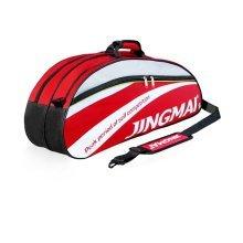 Single Shoulder Waterproof And Dustproof Racket Bag 6 Racquet Bag,Red