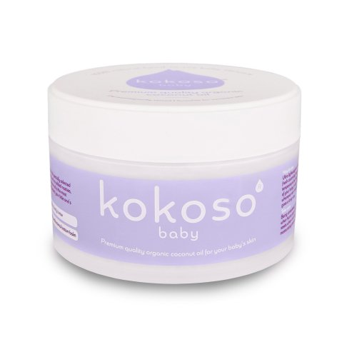 Kokoso Natural Baby Coconut Oil – Organic 168g