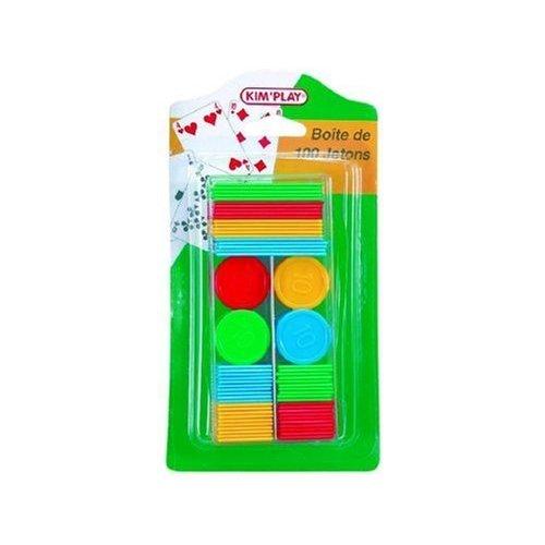 Cofalu Kim' Play–Travel Set–Box of 100Game Pieces