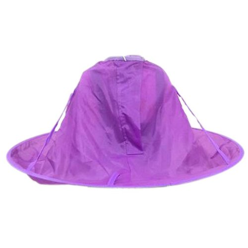 Professional Kid Hair Cutting Cape Baby Styling Salon Waterproof Cloak, Purple