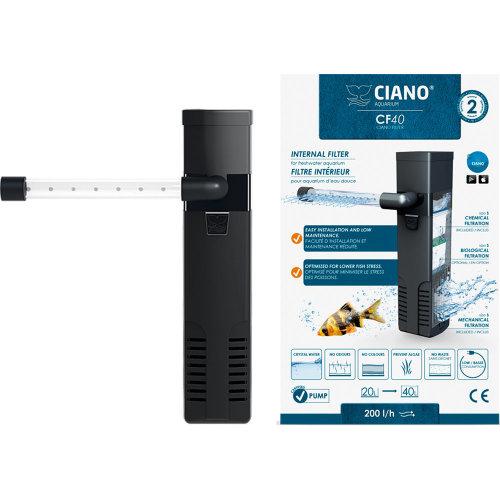 Ciano CF40 Aquarium Internal Filter 20-40 L