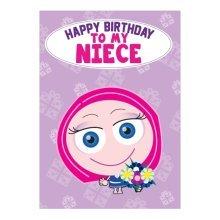 Birthday Card - Niece