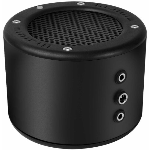 MINIRIG 2 Portable Rechargeable Bluetooth Speaker - 80 Hour Battery - Premium Stereo Sound - Black