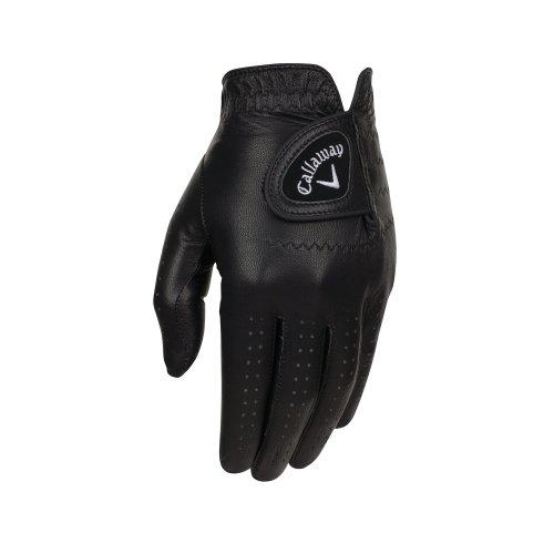Callaway Golf Opti-Colour Gloves, Black, Medium