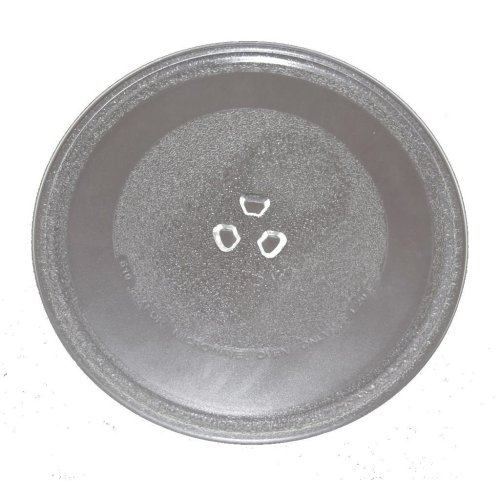 Universal Microwave Turntable Glass 255mm Fits Whirlpool Universal