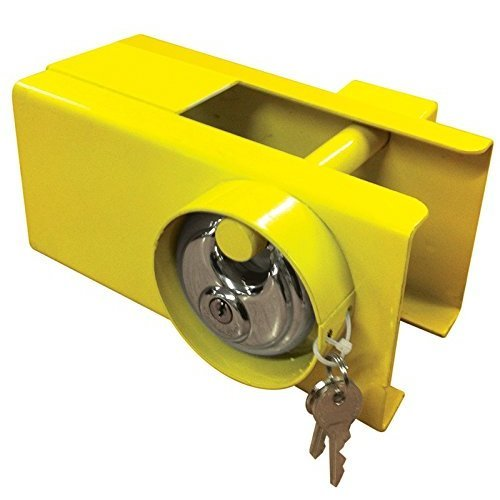 Heavy Duty Tow Hitch Lock & Keys for Towing Caravan/Trailer Security