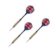 Set of 3 Stainless Steel Tip Darts with Brass Barrel (18 Grams)