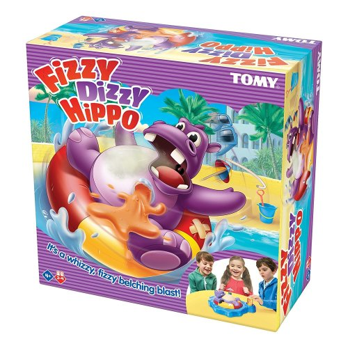 Fizzy Dizzy Hippo Children's Preschool Action Game